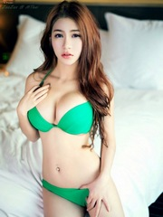 Curvy asian beautiful